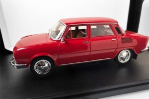 SKODA-100L-DIE-CAST-HOBBY-MODEL-SCALA-1/24Хоби